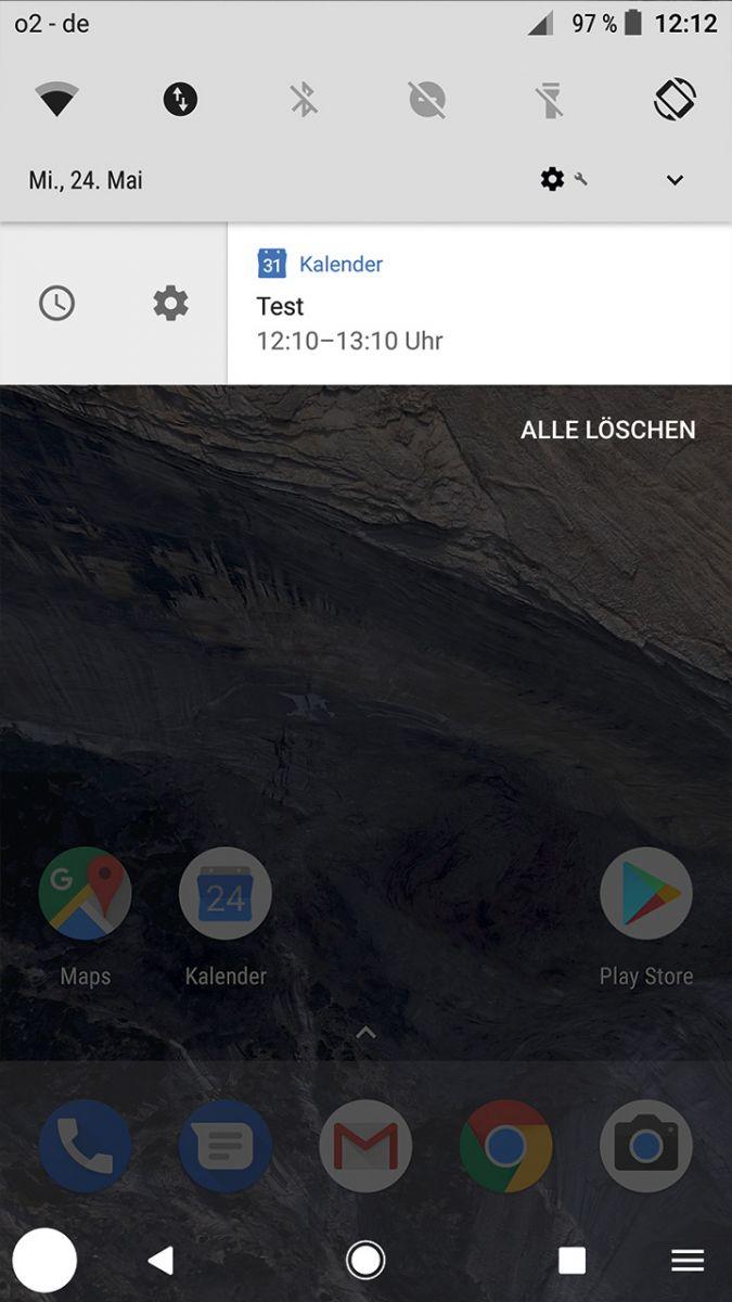 Android 8.0: Напоминания теперь можно не только стирать, но и смещать на устанавливаемое время в режиме ожидания.