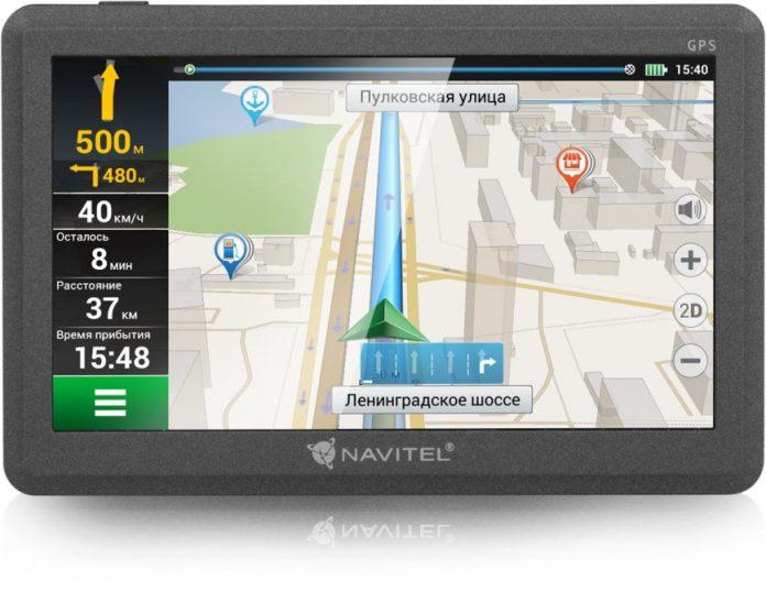 Начались продажи навигатора Navitel C500 с подробными картами России