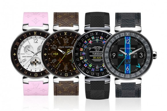 Louis Vuitton презентовала свои первые умные часы Tambour Horizon за $2 450