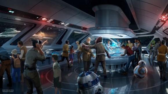 Disney собирается открыть курорт с погружением во вселенную «Звездных войн»