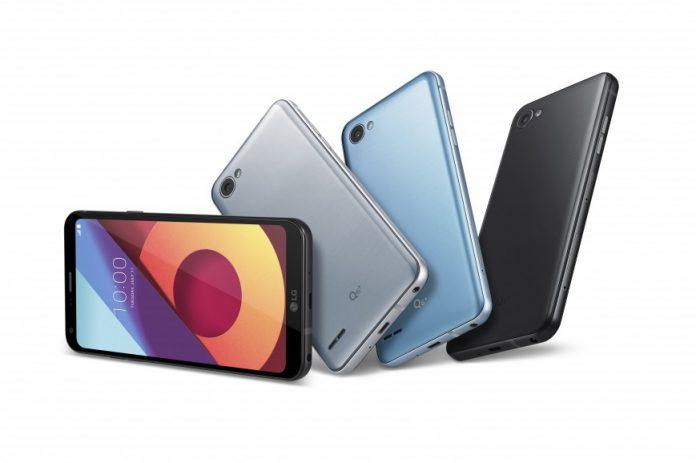 Названа российская цена мини-версии флагмана LG G6 — смартфона LG Q6