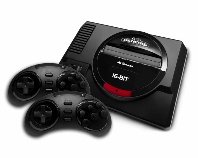 Современная версия приставки Sega Mega Drive поступит в продажу осенью