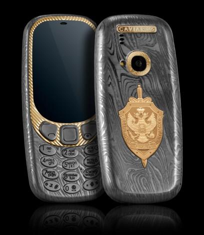 Caviar представила титановые Nokia 3310 ко дню Военно-Морского Флота
