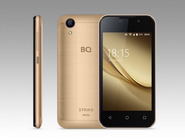 BQ Strike Mini — новый российский смартфон всего за 2990 руб.