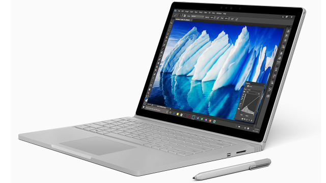 Тест и обзор Microsoft Surface Book с приставкой Performance Base