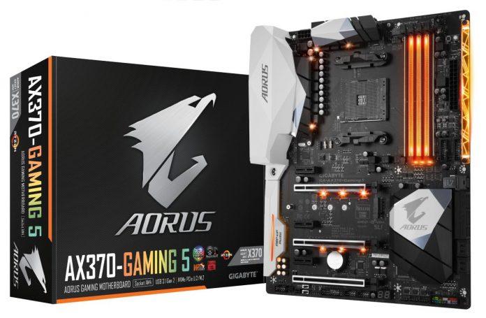 Тест и обзор материнской платы Gigabyte Aorus GA-AX370-Gaming 5