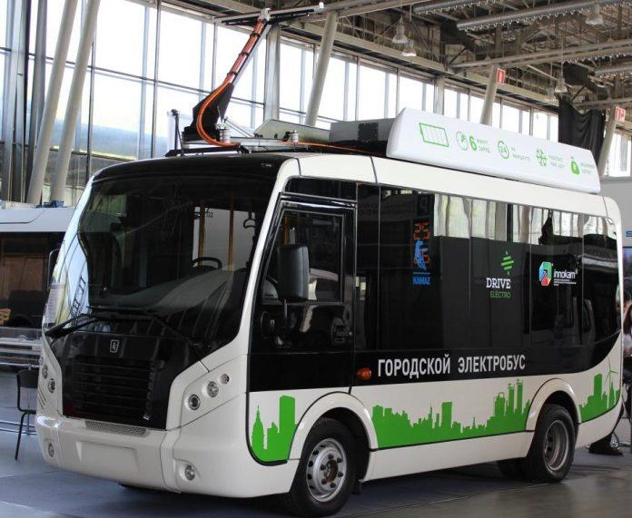 В Москве появятся электробусы с USB-зарядками и Wi-Fi