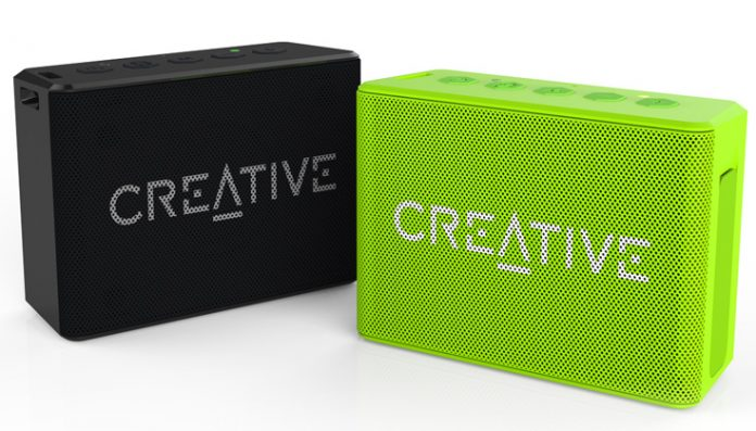 Creative представила беспроводную колонку для активного отдыха Muvo 1c