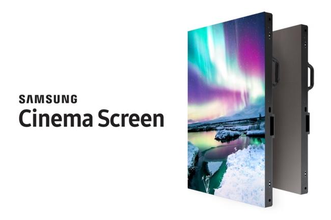 Samsung представила первый в мире светодиодный кинотеатральный экран