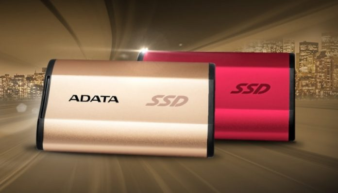Представлен самый компактный в мире внешний SSD-накопитель ADATA SE730H