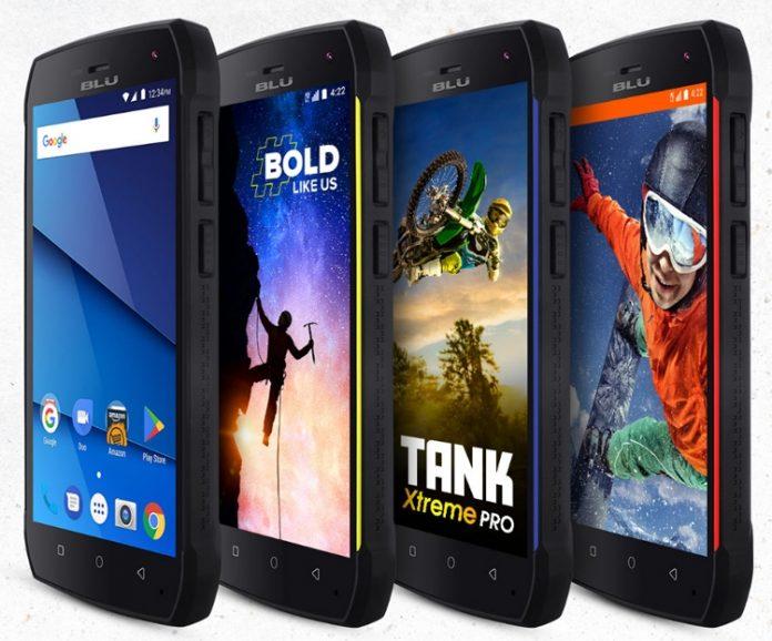 BLU выпустила защищенный смартфон Tank Xtreme Pro