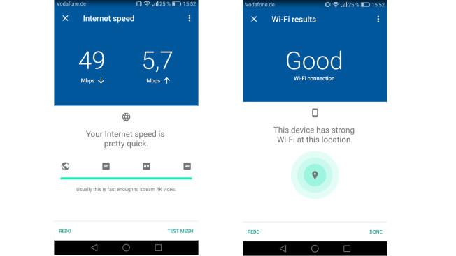 Тест Google WiFi: хороший уровень сигнала повсюду
