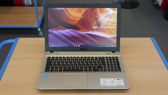 Тест ноутбука Asus VivoBook Max X541SA