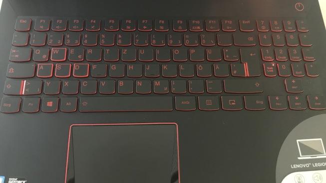 Тест и обзор игрового ноутбука Lenovo Legion Y520-15IKBN