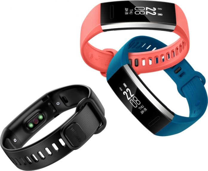 Huawei анонсировала фитнес-браслеты Band 2 и Band 2 Pro