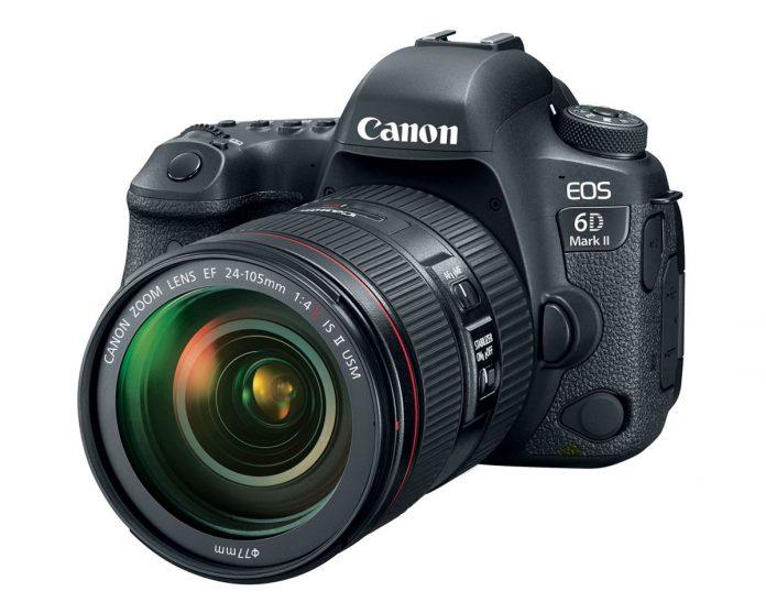 Первый взгляд на фотоаппарат Canon EOS 6D Mark II