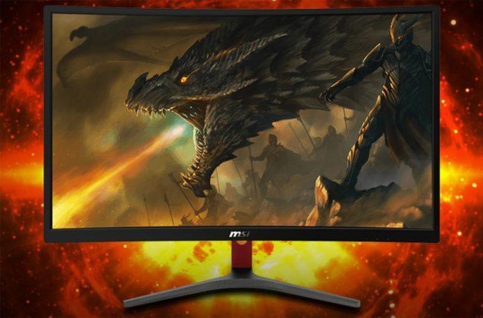 MSI представила изогнутый игровой монитор Optix G24C