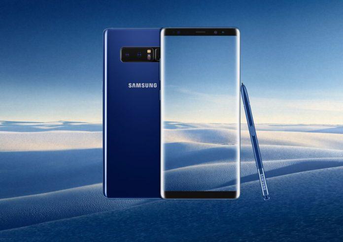 Samsung Galaxy Note 8: официальные характеристики и российская цена