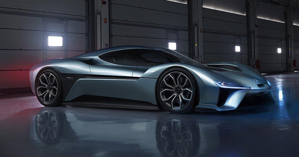 NextEV Nio EP9: этот электромобиль уезжает от всех бензиновых машин и даже устанавливает новый рекорд скорости.