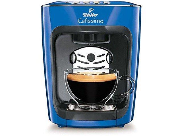 Тест капсульной кофеварки Tchibo Cafissimo MINI Electric Blue