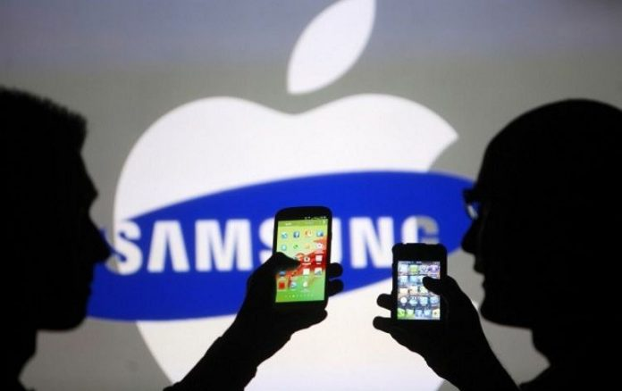 Самсунг  обошла Apple пообъему квартальной выручки