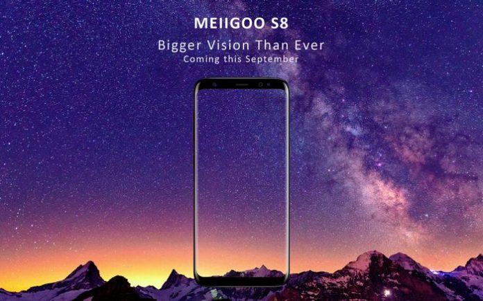 Китайцы представили очередной клон Samsung Galaxy S8 — Meiigoo S8