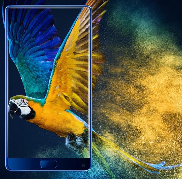 Elephone анонсировала безрамочный смартфон, экран которого занимает 92,4% площади передней панели