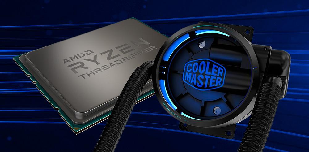 Водяное охлаждение Cooler Master для процессоров AMD Ryzen Threadripper
