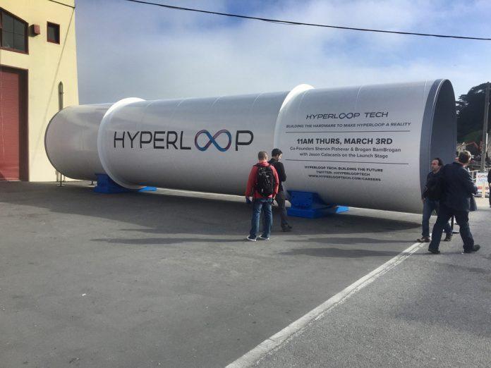 Капсулу Hyperloop One разогнали до 308 км/ч, но испытание всё равно провалили