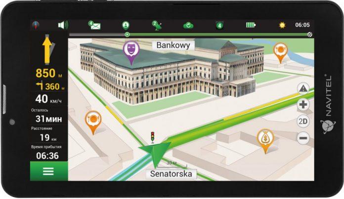 Начались продажи российского навигационного планшета Navitel T700 3G