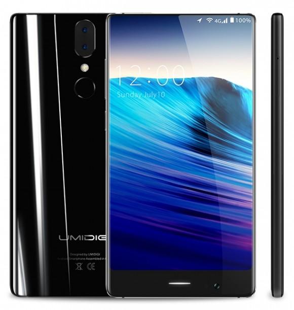 UmiDigi Crystal — стильный безрамочный смартфон