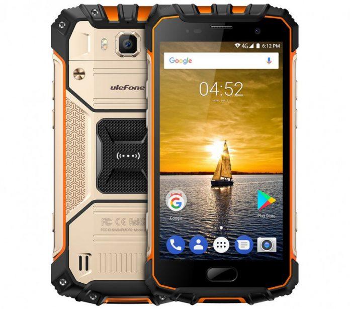 Ulefone представила защищенный смартфон Armor 2