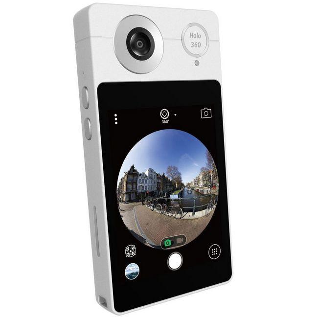 Acer представила на IFA 2017 панорамные камеры Holo360 и Vision360