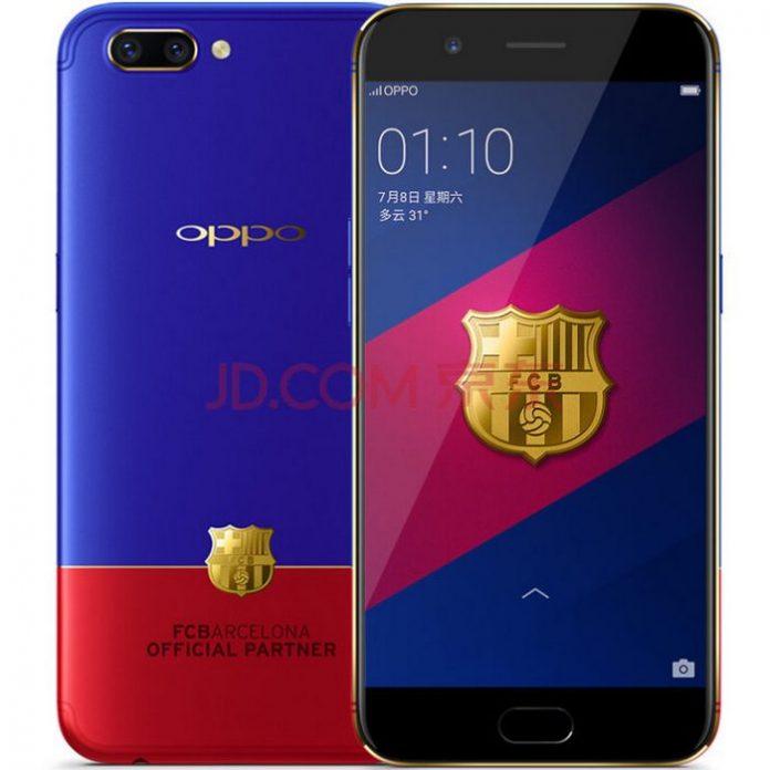 Oppo представила смартфон для фанатов футбольного клуба «Барселона»