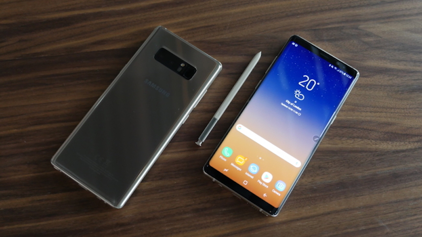 Практический тест Samsung Galaxy Note 8