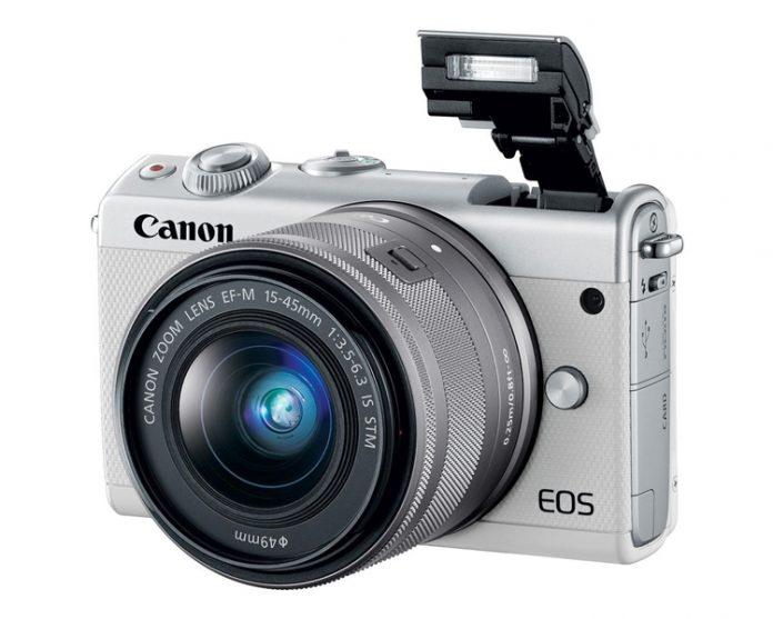 Canon анонсировала беззеркальный фотоаппарат EOS M100