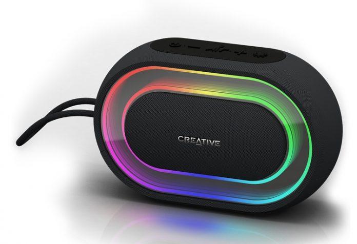 Creative анонсировала портативную колонку со встроенной светомузыкой Halo