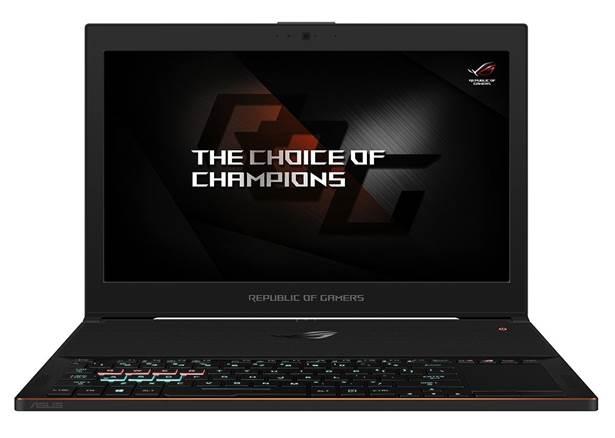 В России стартовали продажи геймерского ноутбука ASUS ROG Zephyrus GX501VI за 229 990 руб.