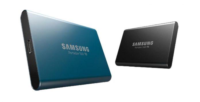 Samsung выпустила новую линейку твердотельных накопителей T5 емкостью от 250 Гб до 2 Тб
