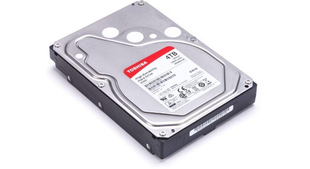 Тест и обзор жесткого диска Toshiba N300 4TB (HDWQ140EZSTA)