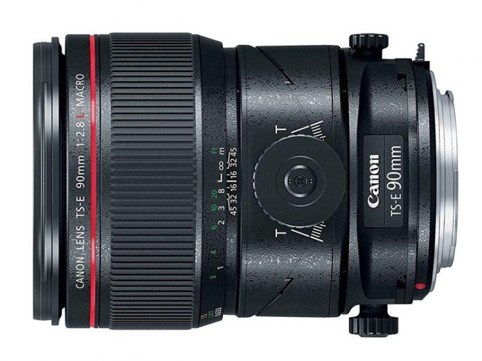 Canon представила три новых объектива с механизмом наклона и сдвига