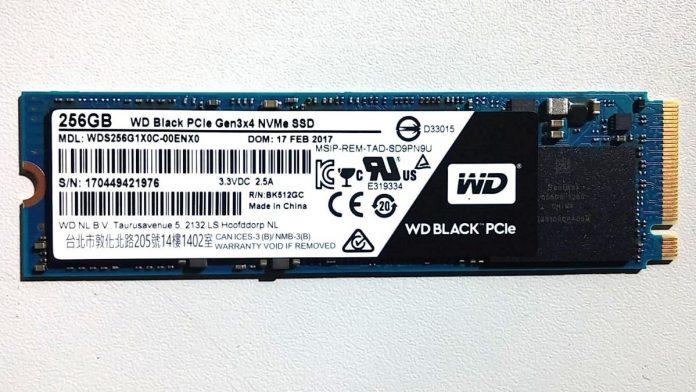 Мини-тест SSD Western Digital Black PCIe 256GB