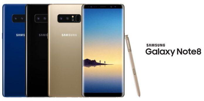 Смартфон Samsung Galaxy Note 8 пользуется рекордным спросом