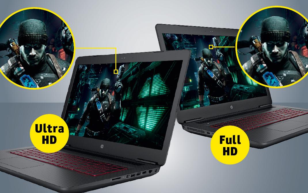 Ultra HD против Full HD