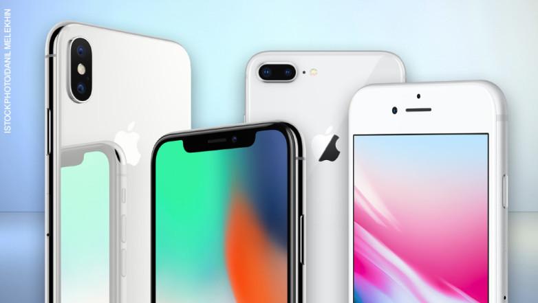 Сравнение новых iPhone: iPhone X против 8 и 8 Plus