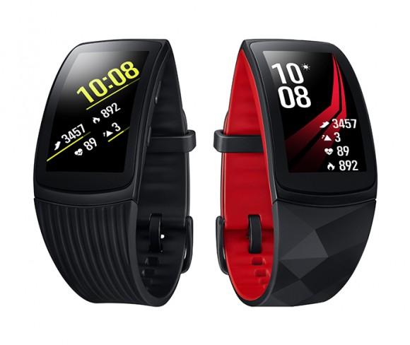 Начались российские продажи фитнес-браслета Samsung Gear Fit 2 Pro