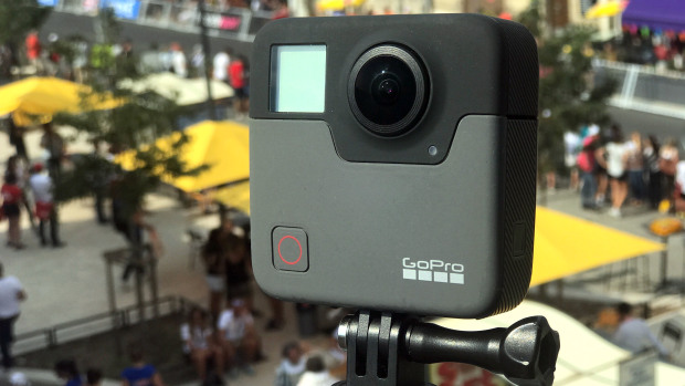 Новинка от GoPro: камера GoPro Fusion с 360-градусным обзором