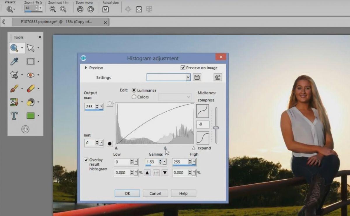 Corel PaintShop Pro 2018: Фоторедактор для профи и новичков