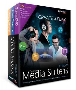 CyberLink Media Suite 15 Ultimate: Все для видео, фото и Кo