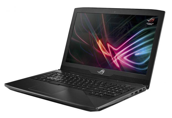 ASUS представила новые геймерские ноутбуки Strix GL503 и Strix GL703